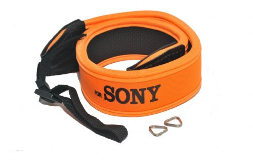 Weight Reducing Camera Strap for Sony - Orange